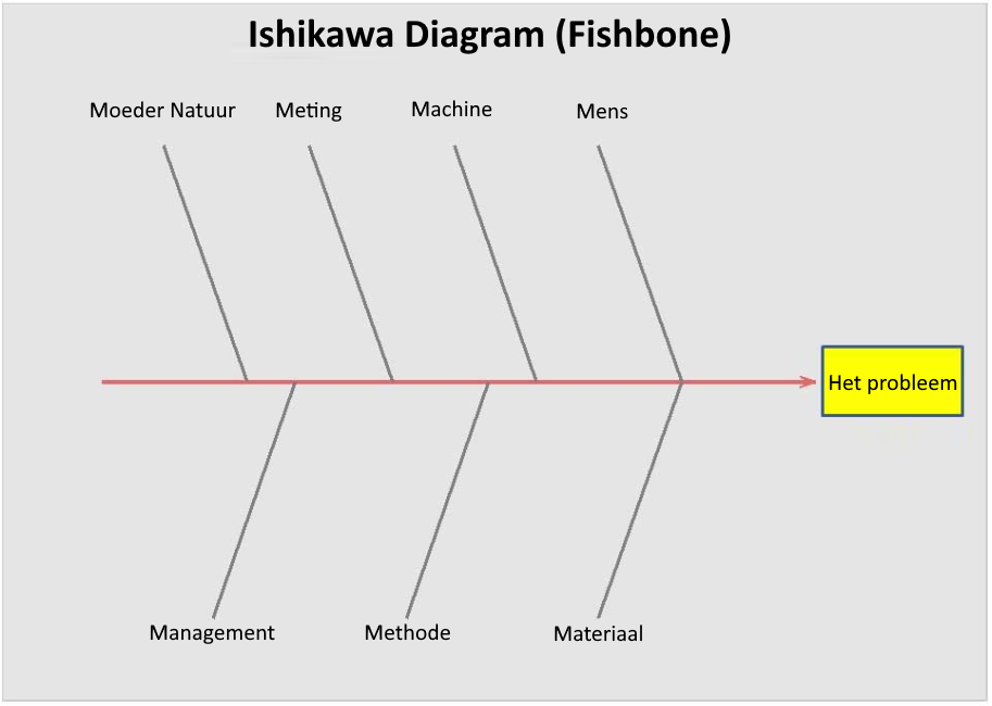 Ishikawa Fishbone lean tool